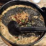 118318951 - 黒胡麻坦々麺 2019.10