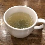 ふらんす亭 - ランチのスープ