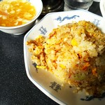 中華 八景堂 - スープ付で750円