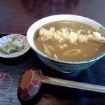 川野屋本店 - カレーうどん