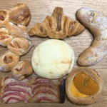 穂の香 - 料理写真:今回買ったパン