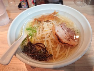 牛骨ラーメン 来香 安倍店 - 2019年10月 塩ラーメン