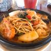 マカロニ市場 - 料理写真:シーフードトマトソーススパゲティ