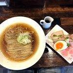 Raku - 清湯生揚醤油普通盛り