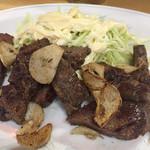 田舎庵 - 料理写真:牛肉ステーキ