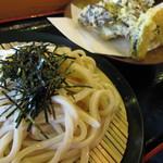 水穂 - 舞茸天ざるうどん