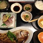 旬彩 - 料理写真:おのみち小魚御膳だよ。