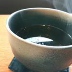 みそらやcafe - お店おすすめ、ほうじ茶♪