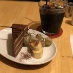 カフェ・ラシュール - 水出しアイスコーヒー と ケーキセット 計880円