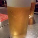 上上 - ビール.JPG