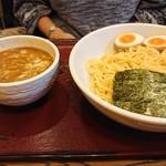 めん和正 - 相方のつけ麺+つけ麺。