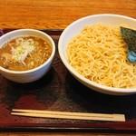 めん和正 - つけ麺(中盛)。