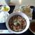 美好 - 料理写真:きしめん定食ランチ@730