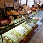 杵屋 - 和菓子店内