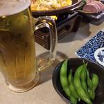 泉坂 - ビールに合う一品メニューも豊富