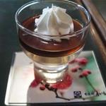 甘味処 彦いち - 梅酒ゼリー