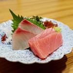 肉と魚 あおき - 刺身 [ビジネスランチセット]