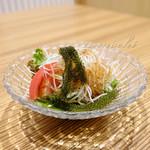 肉と魚 あおき - サラダ [ビジネスランチセット]
