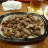 わが家 - 料理写真:地鶏炭火焼ばらし