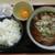 野呂パーキングエリア(下り)スナックコーナー - 料理写真:朝そば定食 ¥490-