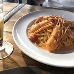 檪の丘 - 手長エビの濃厚トマトクリーム生スパゲティーニ