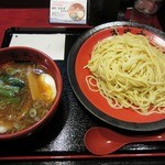 古武士 - ・「つけ麺 大盛300g(\750)」