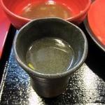 """古武士 - """"スープ割り""""の器。"""