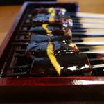 きく宗 - 豆腐田楽の横からドアップ