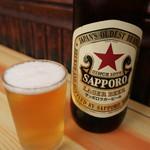 118395855 - 瓶ビール(サッポロラガービール)