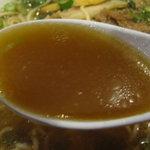 神戸ラーメン 第一旭 - スープ