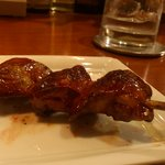 鳥火鳥火nest - ふわトロの 白肝の串焼き