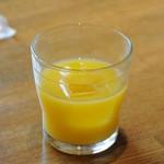 夜光杯 - オレンジジュース
