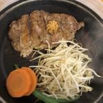 92's - 料理写真:サーロインペッパーステーキ 120g 税抜890円