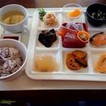 農場レストラン 温故知新 - 料理写真:魚と野菜のほっこりプレート 1100円