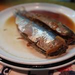 和乃家 - いわし煮:350円