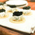 グルマンディーズ - 自家製チーズとキャビアのカナッペ