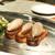 グルマンディーズ - 料理写真:レバーのブルスケッタとハーブサラダ