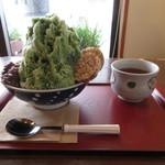 風の菓子 虎彦 - 星の抹茶ミルク金時 650円(税別) (2019.8)