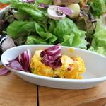 TEA HOUSE laCASA - かぼちゃのサラダ