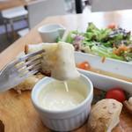 TEA HOUSE laCASA - チーズフォンデュ