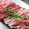 焼肉革命 牛将 - 料理写真:大盛り!400g越え!お得な人気肉4種盛り!