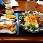 Chibuneya - 和牛肉ぶっかけ・ちくわ天&エビ天増し