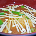花水木 - 味噌汁 ( 定食 ) 2019/10/26
