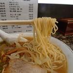 熊ちゃんの店 - みそラーメン(770円)麺リフトは苦手です