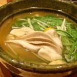 志ん橋 ひでや - 牡蠣のハリハリ鍋