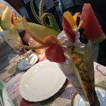 フルーツ大野 - フルーツパフェ