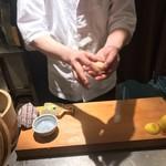 118425382 - おいしい山形のお店 神田鳥海(とりうみ)(東京都千代田区内神田)特選肉寿司