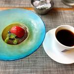 タヴェルナ グイダ - 料理写真:ドルチェはソルベとコーヒー