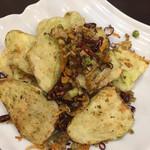 蓬溪閣 - 茄子の山椒炒めです これも求めていた味です 文句なしに美味しい