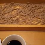 酒彩蕎麦 初代 - 料理写真:水、切れないよね…切れる訳ないよね…。